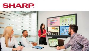 Sharp Aquos Interactive Digital Displays